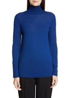 St. John Collection Extrafine Merino Wool Jersey Top