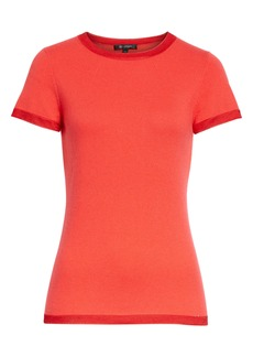 St. John Collection Featherweight Cashmere Blend Top