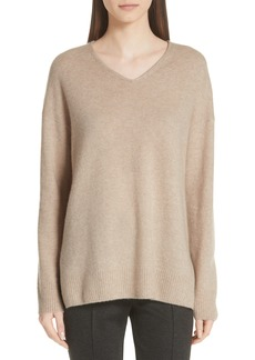 St. John Collection Fine Gauge Cashmere & Silk Sweater (Nordstrom Exclusive)