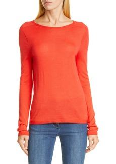 St. John Collection Fine Gauge Merino Jersey Sweater