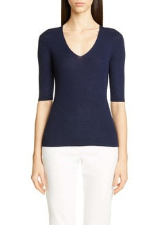 St. John Collection Fine Gauge Ribbed Sweater