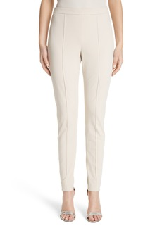 St. John Collection Fine Stretch Twill Leggings