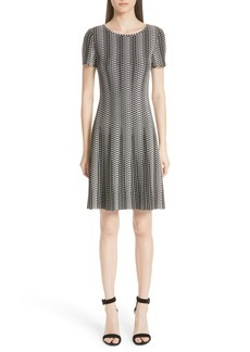 St. John Collection Fit & Flare Knit Dress (Nordstrom Exclusive)