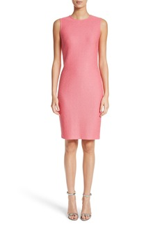 St. John Collection Hannah Knit Sheath Dress