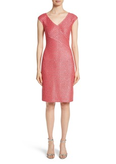 St. John Collection Hansh Knit Dress