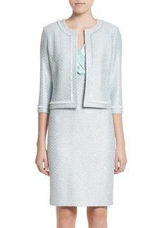 St. John Collection Hansh Sequin Knit Jacket