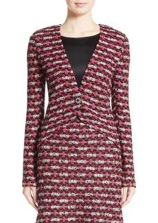 St. John Collection Hiran Tweed Knit Jacket
