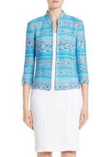 St. John Collection Imani Tweed Knit Jacket