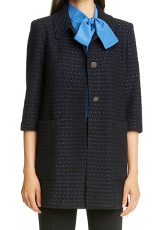 St. John Collection Inlay Bouclé Tweed Knit Jacket (Nordstrom Exclusive)