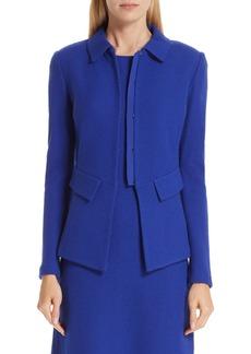 St. John Collection Irina Bouclé Knit Jacket