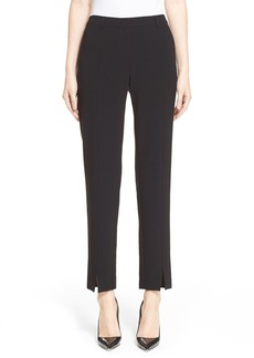 St. John Collection 'Jennifer' Crepe Marocain Ankle Pants
