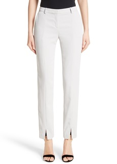St. John Collection Jennifer Stretch Cady Pants