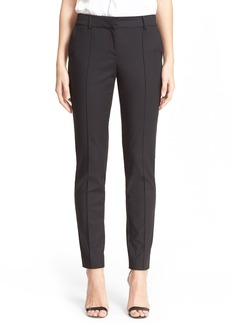 St. John Collection 'Jennifer' Stretch Micro Ottoman Ankle Pants