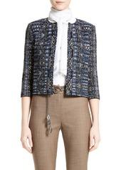St. John Collection Kian Tapestry Knit Jacket