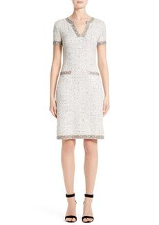 St. John Collection Kira Tweed Dress