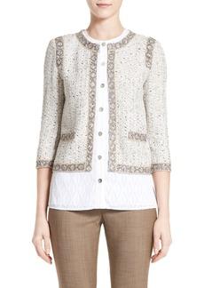 St. John Collection Kira Tweed Jacket