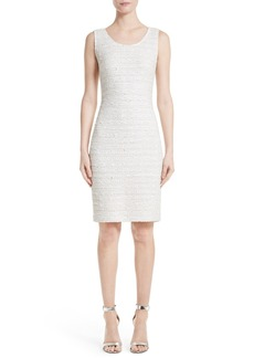 St. John Collection Knit Sheath Dress