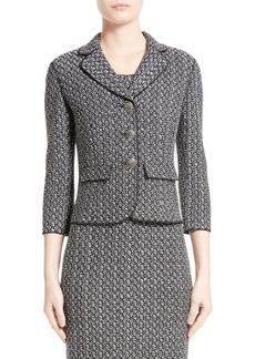St. John Collection Lela Tweed Knit Jacket