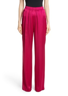 St. John Collection Liquid Crepe Pants