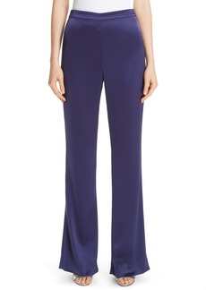 St. John Collection Liquid Satin Pants