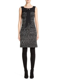 St. John Collection Liya Tweed Shift Dress