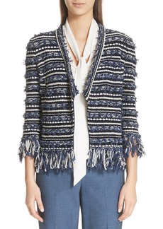 St. John Collection Lofty Floats Knit Jacket