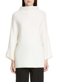 St. John Collection Luxe Cashmere Rib Sweater