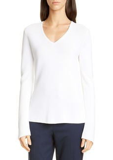 St. John Collection Luxe Links Textured Sweater