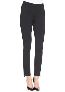St. John Luxe Sculpture Knit Ankle Pants