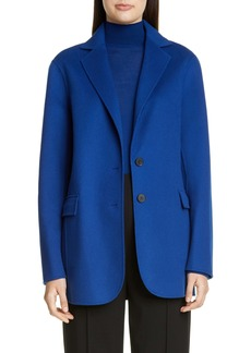 St. John Collection Luxe Wool & Cashmere Double Face Jacket