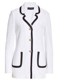 St. John Collection Luxury Bouclé Knit Jacket