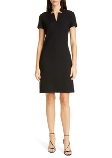 St. John Collection Micro Bouclé Knit Dress