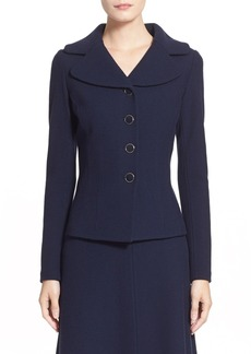 St. John Collection Micro Bouclé Knit Jacket
