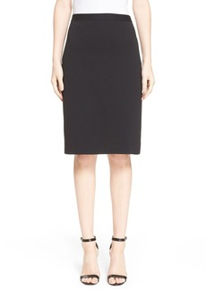 St. John Collection Milano Knit Pencil Skirt