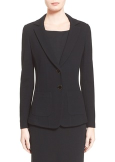 St. John Collection Milano Piqué Knit Jacket