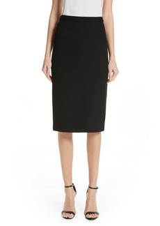 St. John Collection Milano Piqué Knit Skirt