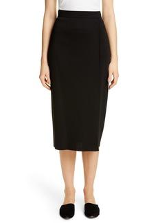 St. John Collection Modern Double Knit Skirt