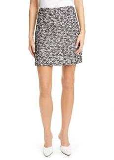 St. John Collection Modern Statement Tweed Skirt