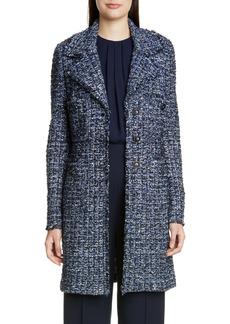 St. John Collection Novelty Ribbon Tweed Knit Jacket