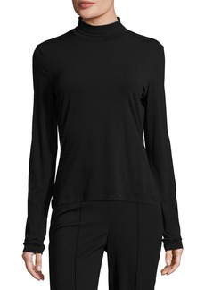 St. John Nuda Turtleneck Jersey Top