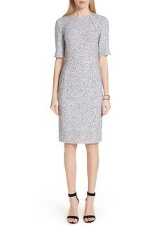 St. John Collection Olivia Bouclé Knit Dress