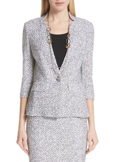 St. John Collection Olivia Bouclé Knit Jacket