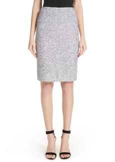 St. John Collection Olivia Bouclé Knit Skirt