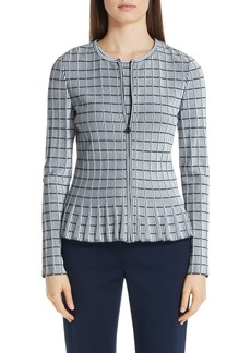St. John Collection Ottoman Knit Jacket