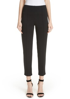 St. John Collection Ponte Knit Ankle Pants