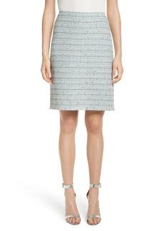 St. John Collection Riana Tweed Pencil Skirt