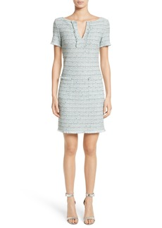 St. John Collection Riana Tweed Sheath Dress