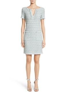 St. John Collection Riana Tweed Sheath Dress