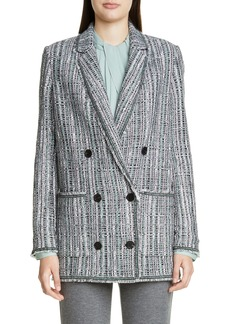 St. John Collection Ribbon Textured Inlay Knit Jacket