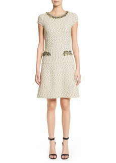 St. John Collection Romee Tweed Dress
